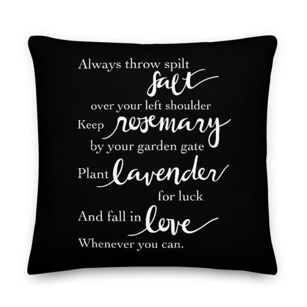 Practical Magic Quote Pillow