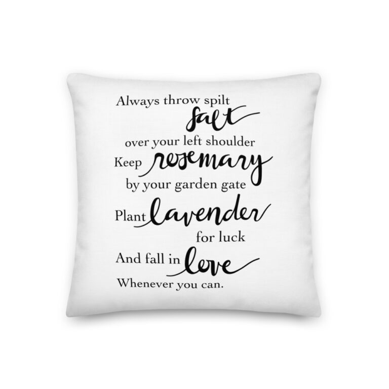 Practical Magic Quote Pillow
