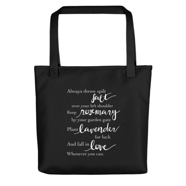 Practical Magic Quote Tote Bag