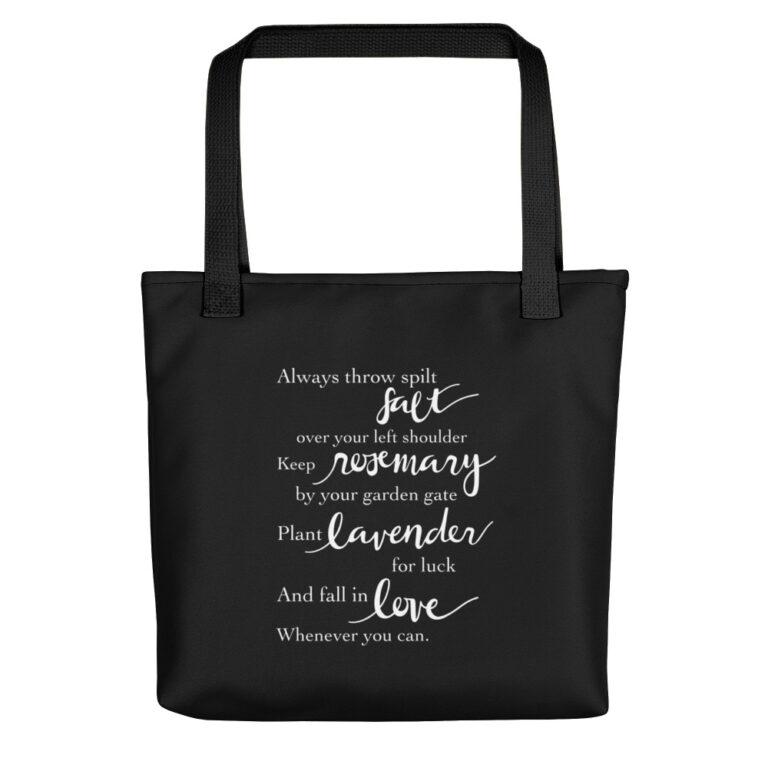 Practical Magic Quote Tote Bag