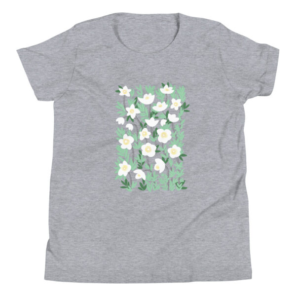 This Lemonade White Wildflowers Kids T-Shirt is bound to turn into your child's favorite shirt! #flowertshirtdesign #kidsflowerdesign #wildflowerdesign #flowertshirt