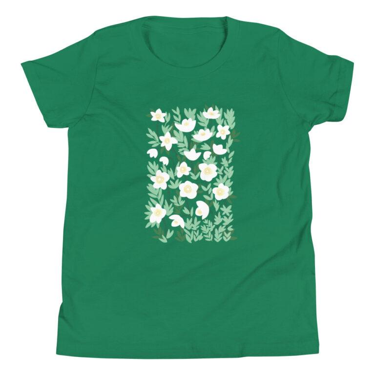 This Lemonade White Wildflowers Kids T-Shirt is bound to turn into your child's favorite shirt! #flowertshirtdesign #kidsflowerdesign #wildflowerdesign #flowertshirt