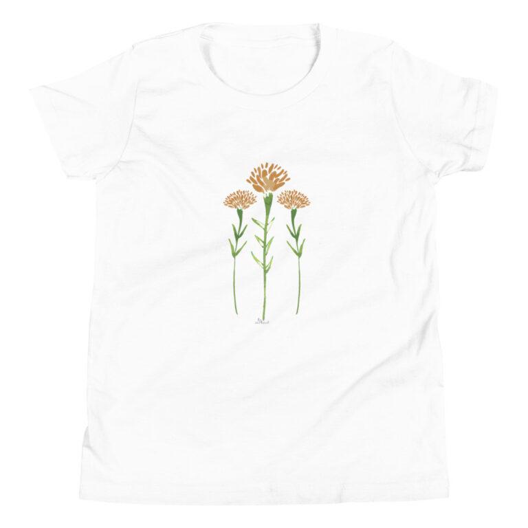 Watercolor Marigolds Kids T-Shirt