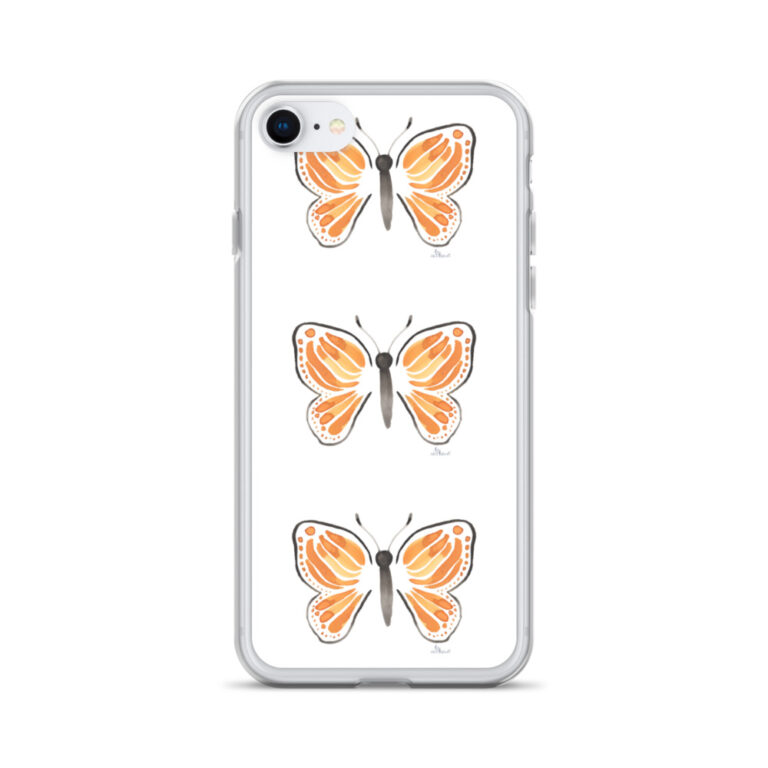 onarch Butterfly iPhone case 8