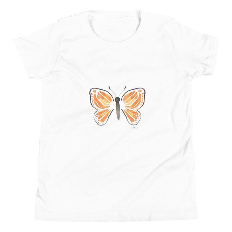 monarch butterfly kids tshirt