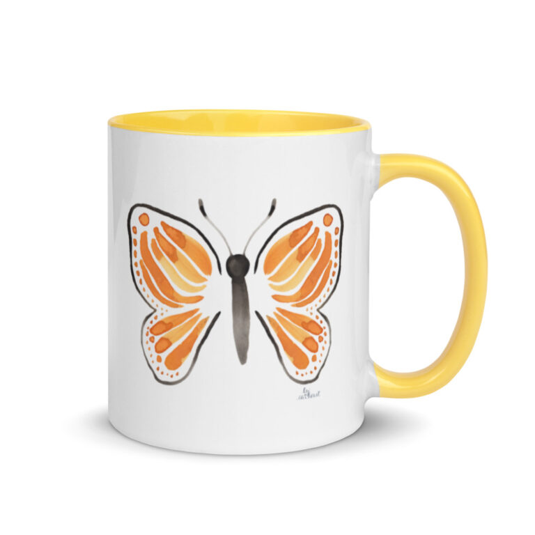 monarch butterfly mug 2