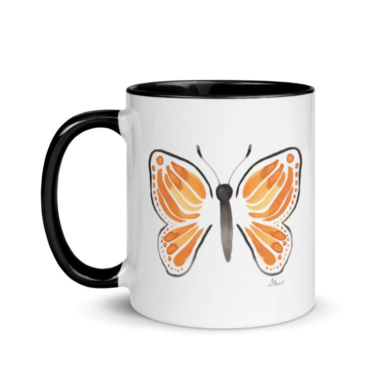 monarch butterfly mug 3