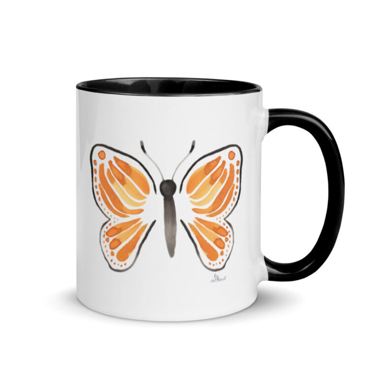 monarch butterfly mug 4