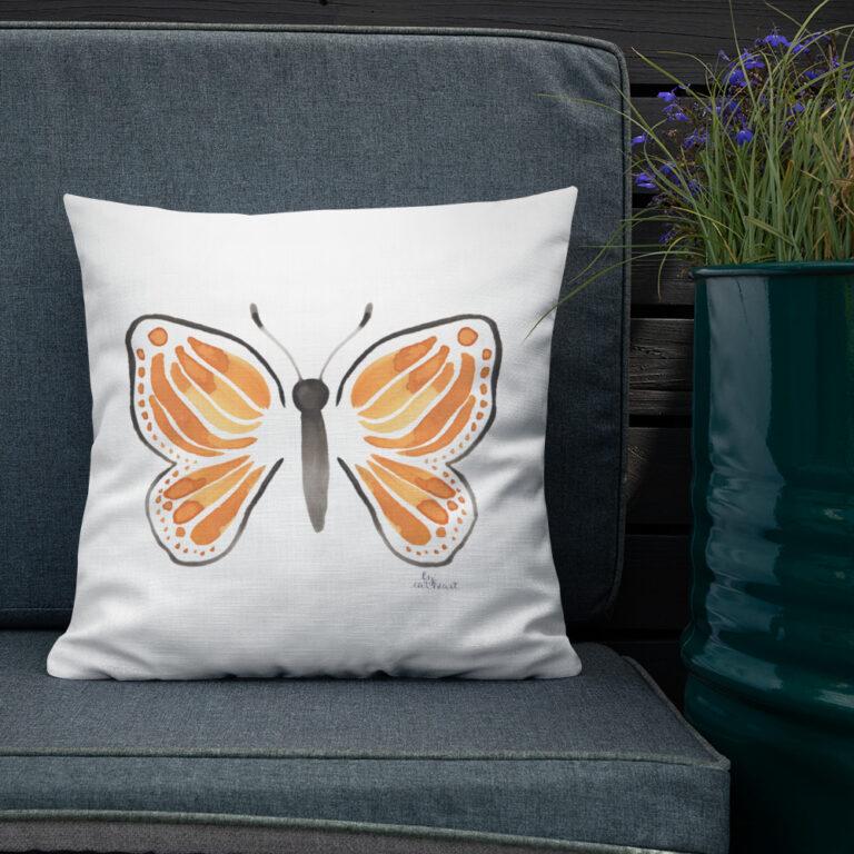 monarch butterfly pillow 3