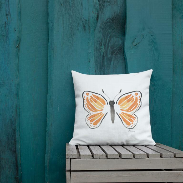 monarch butterfly pillow 4