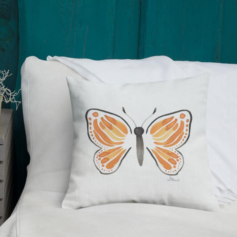 monarch butterfly pillow 5