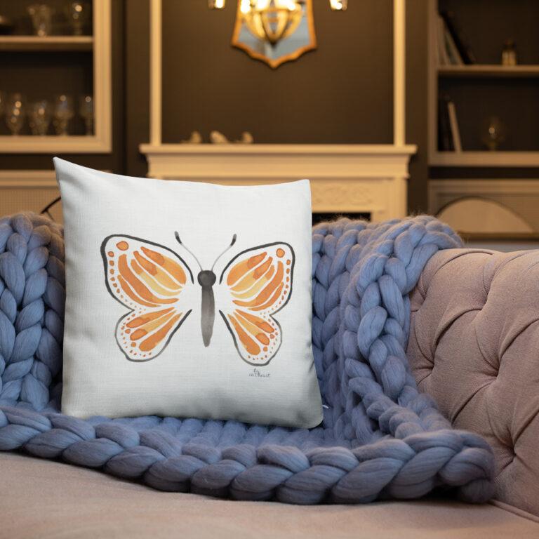 monarch butterfly pillow 6