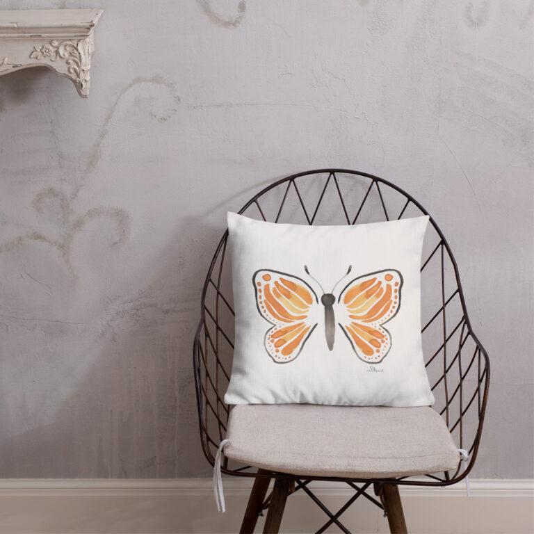 monarch butterfly pillow 8