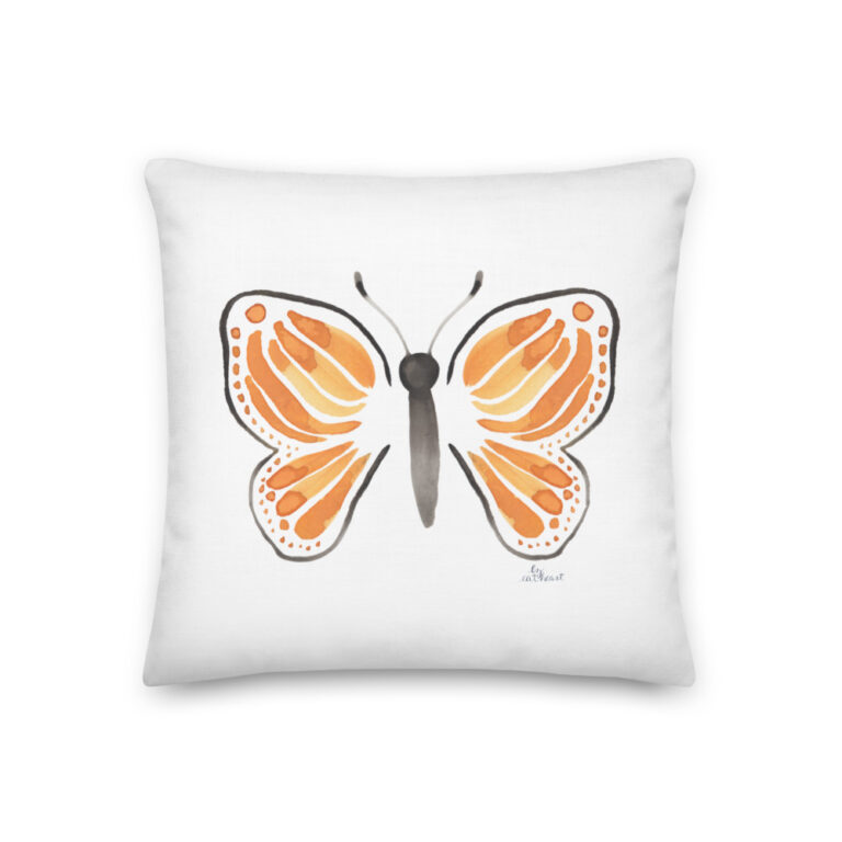 monarch butterfly pillow 9