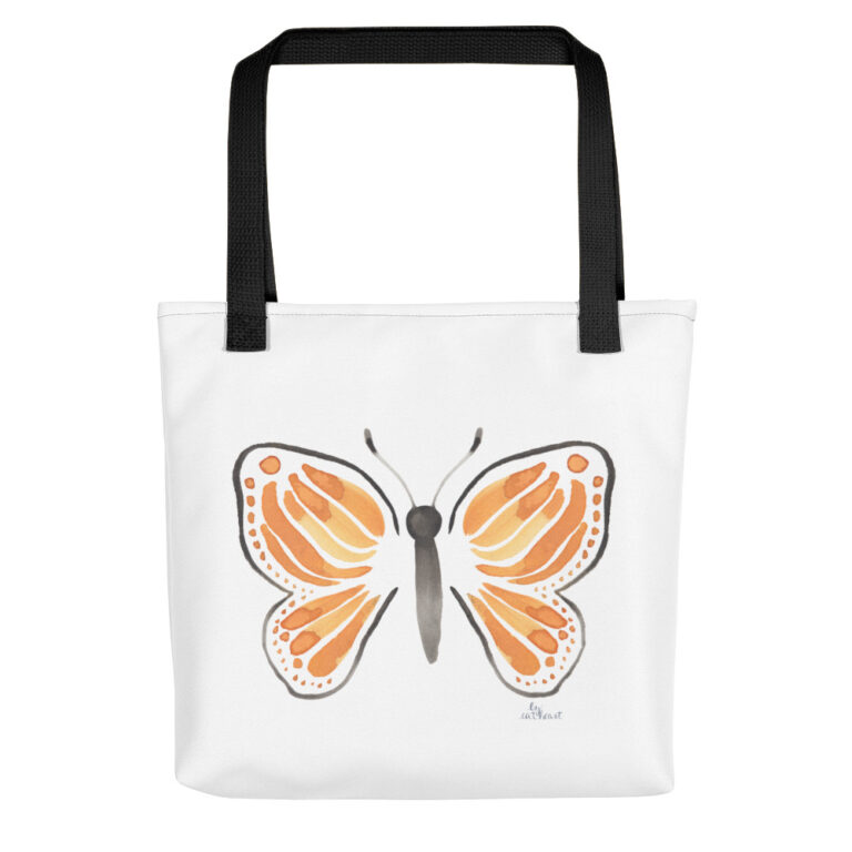 monarch butterfly tote bag 2