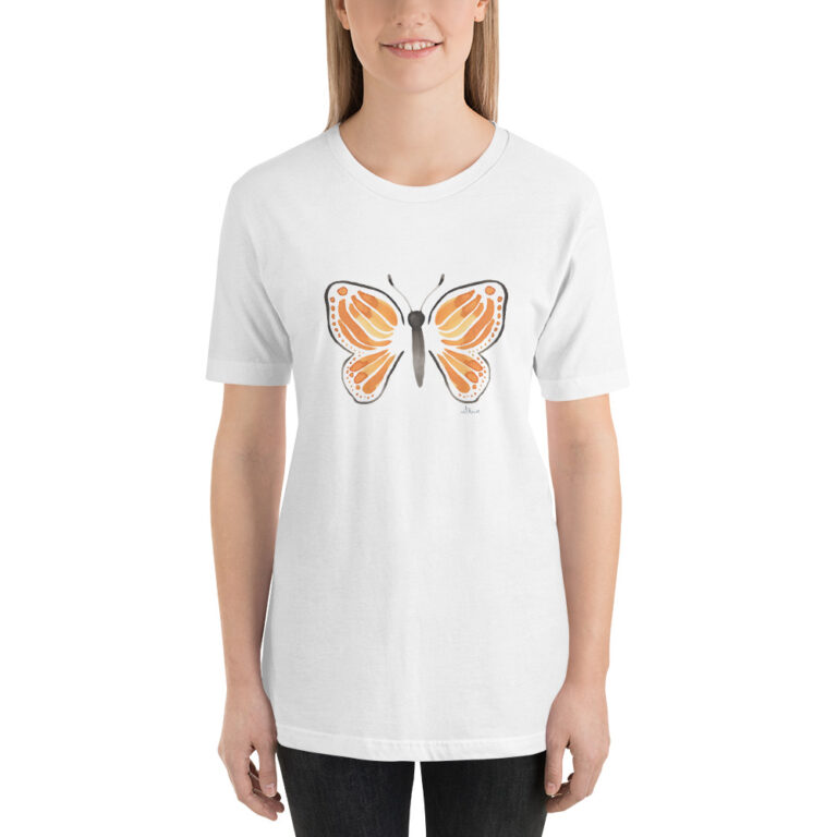 monarch butterfly womens t-shirt