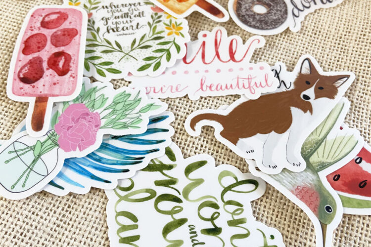 Have you been looking for sticker designs to personalize your favorite items? Look no further, my friend, today is your lucky day! #stickerdesigns #stickers #stickersaesthetic #stickerideas #cutestickers