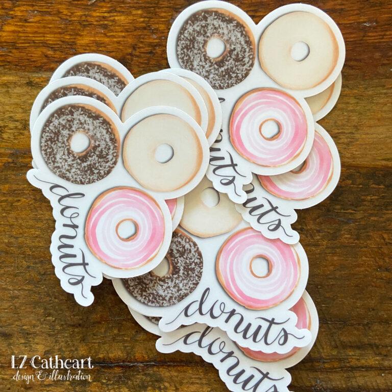 donut sticker