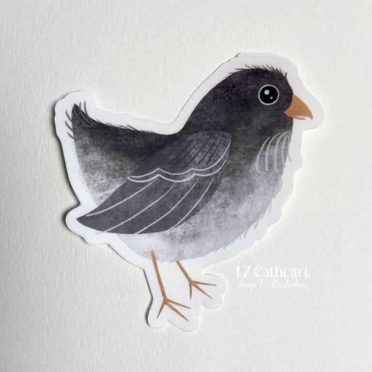 easter egger chick sticker