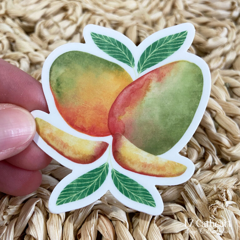 mangos sticker