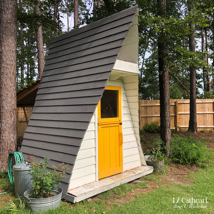 Looking for whimsical ideas for your backyard chicken coop? Let me take you on a tour of my own quirky and inspirational coop.