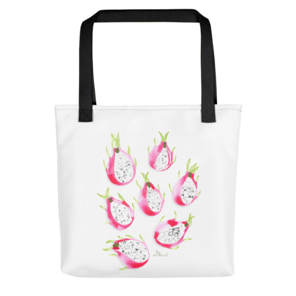 dragonfruit tote bag