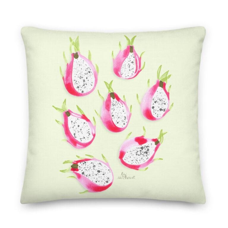 dragonfruit pillow