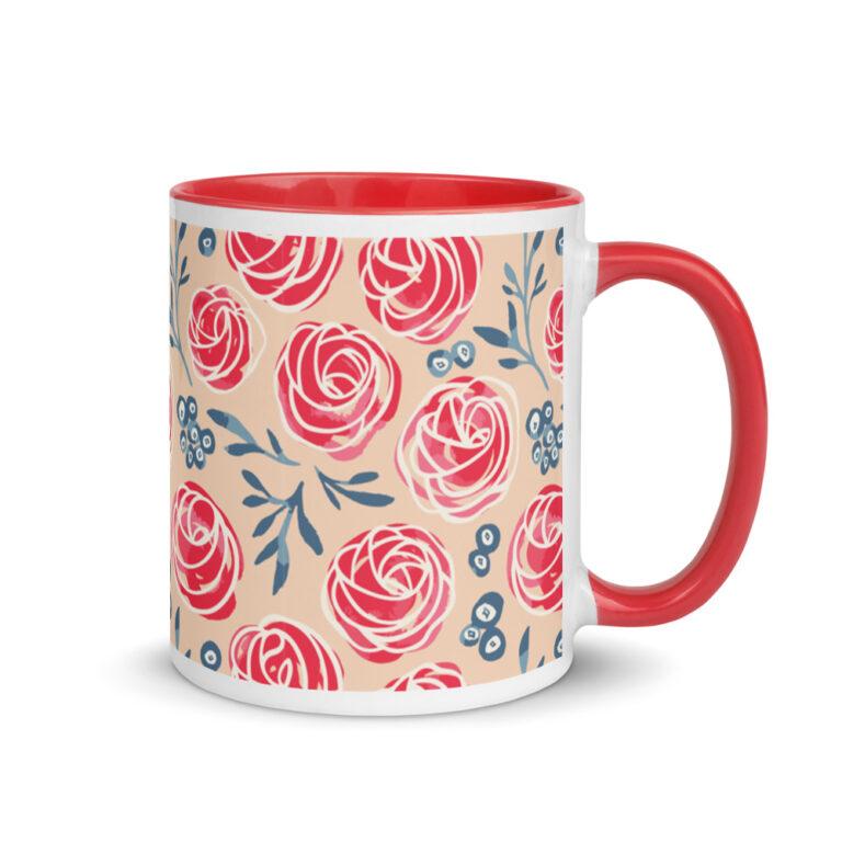 cherry frosting tops mug