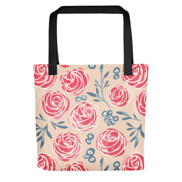 cherry frosting tops tote bag