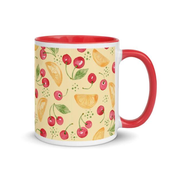 lemon coffee cup