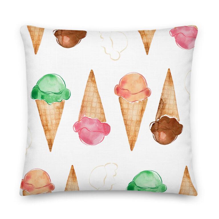 ice cream pillow