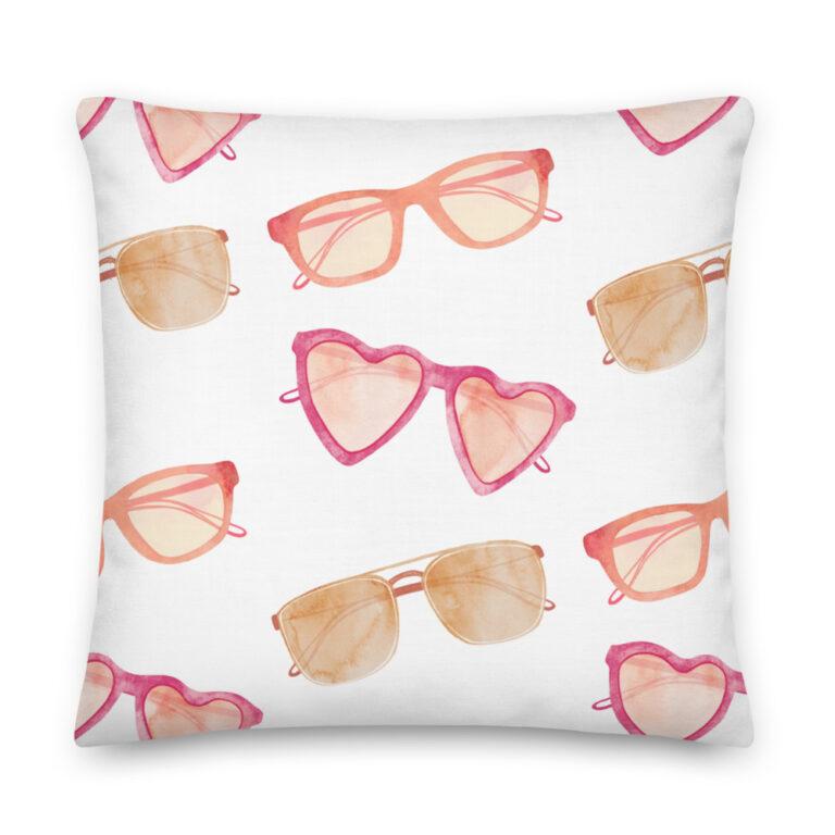 sunglasses pillow