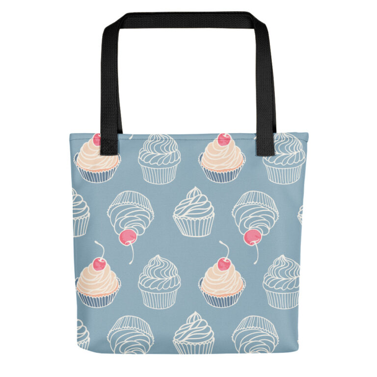 vanilla cupcakes tote bag