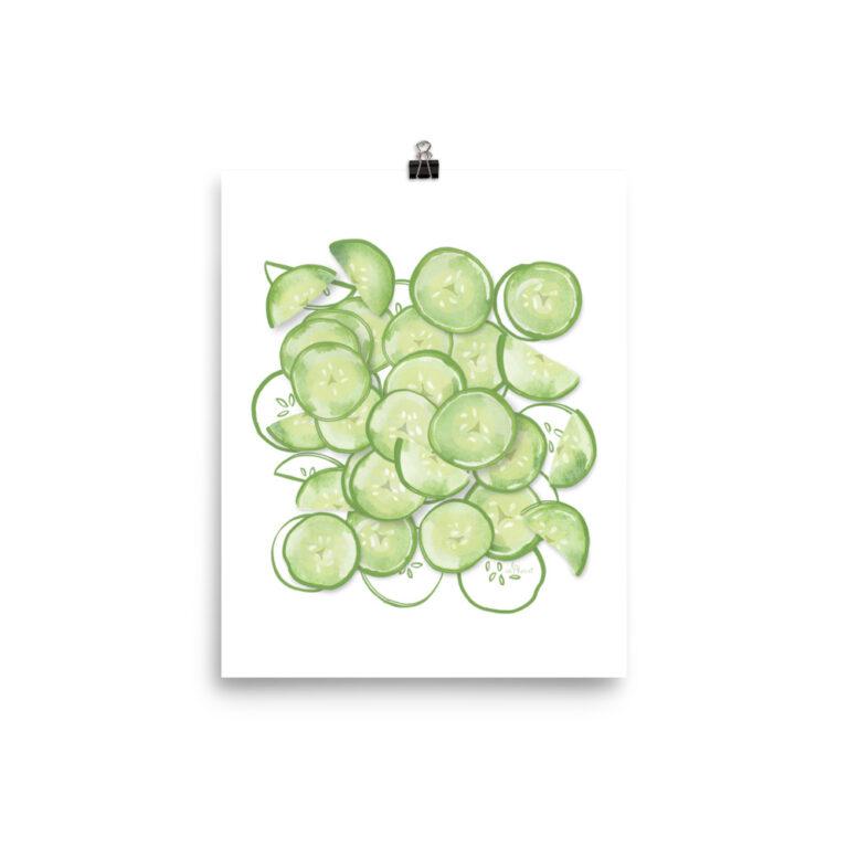 cucumber poster