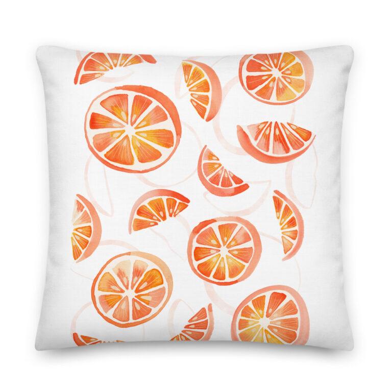 oranges pillow