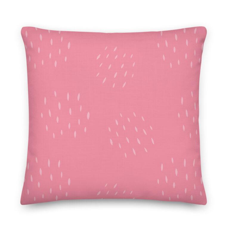 dark pink pillow