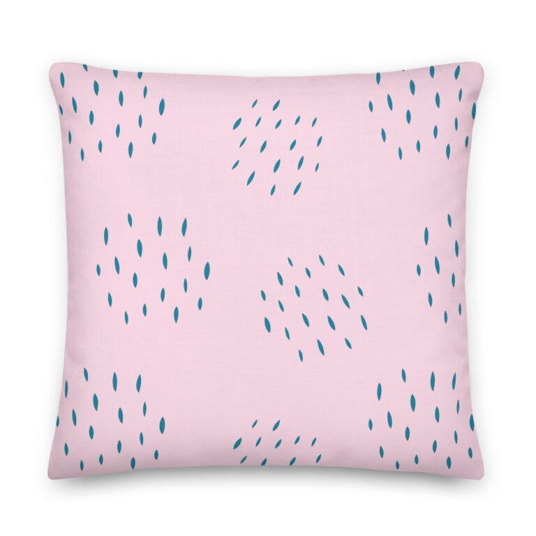 light pink pillow